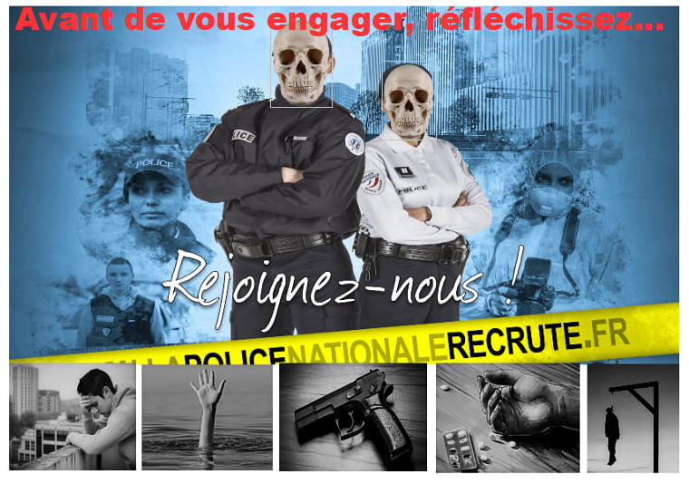 """""""Katastrophale Situation"""": Alle vier Tage bringt sich ein französischer Polizist um"""