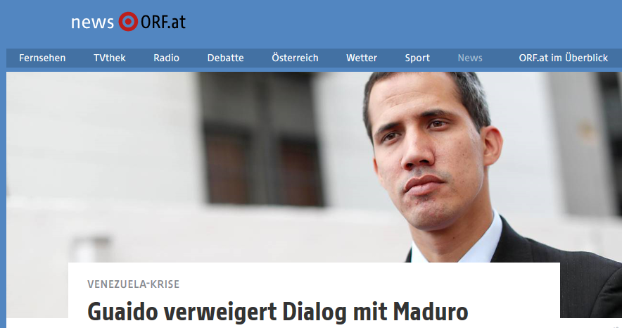 """Realsatire bei Bundespressekonferenz: Auswärtiges Amt bezeichnet Guaidó als """"Mann des Dialogs"""""""
