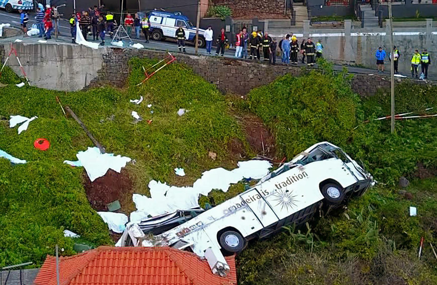 Busunglück auf Madeira: Regierung ordnet dreitätige Trauer an