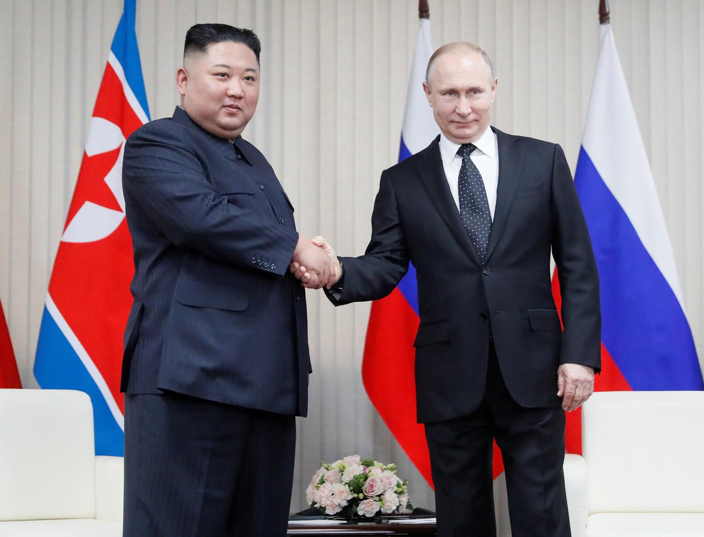 Treffen zwischen Wladimir Putin und Kim Jong-Un dauerte dreieinhalb Stunden