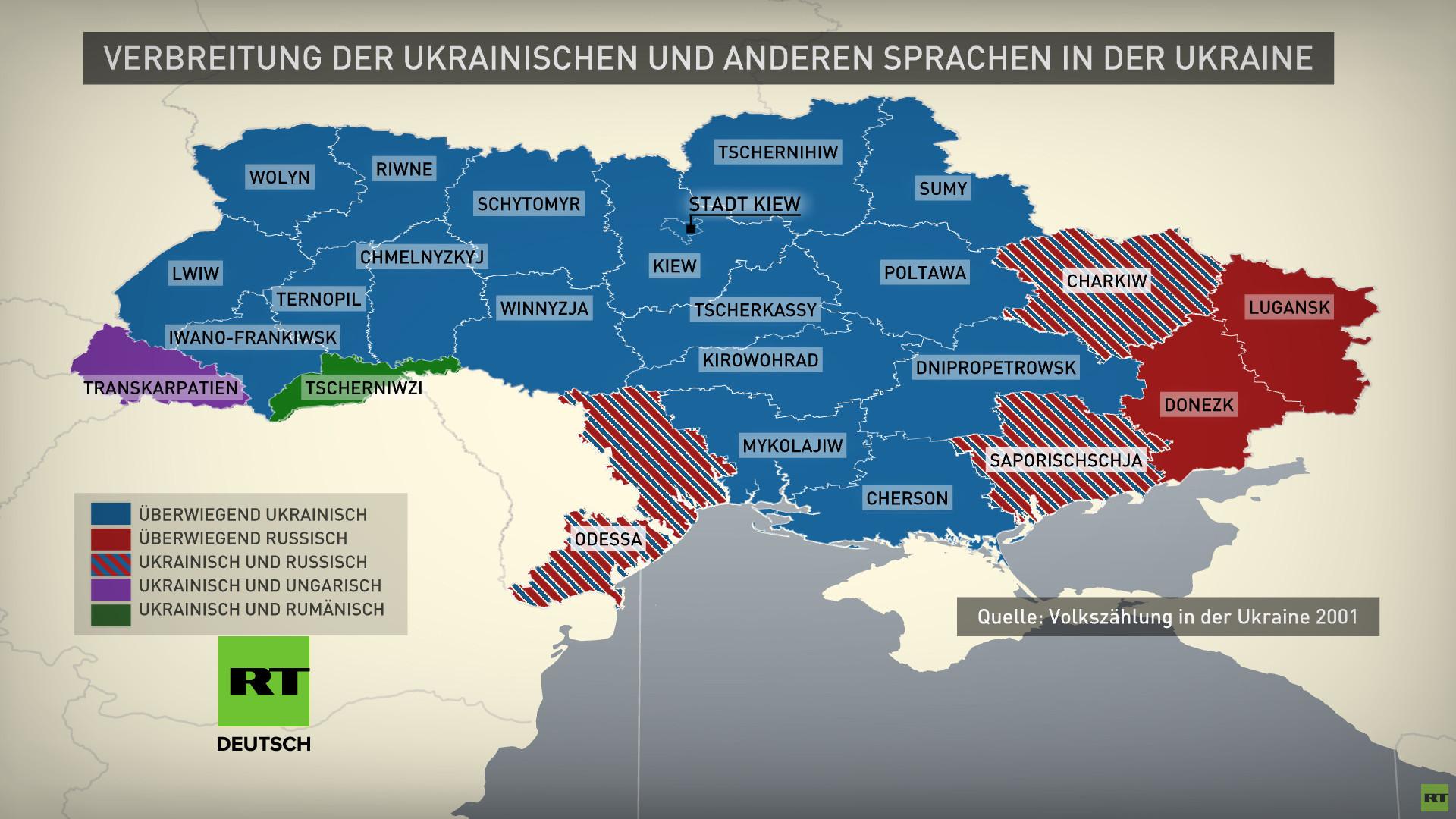 Wie Deutschland und andere Länder ihre Minderheiten in der Ukraine umwerben