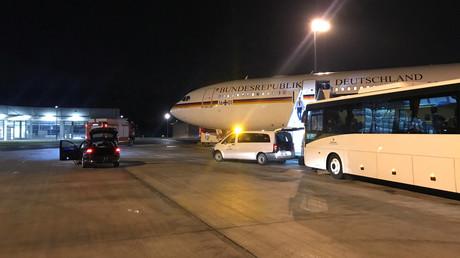 Sinnbild der deutschen Außenpolitik? Havariertes Regierungsflugzeug im November 2018 am Flughafen Köln/Bonn