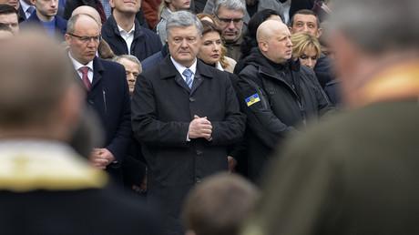 Petro Poroschenko während des