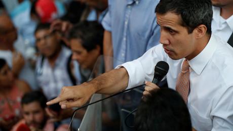 Juan Guaidó, selbsternannter Interimspräsident Venezuelas, Caracas, 1. April 2019.