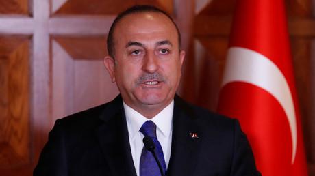 Çavuşoğlu in Ankara im April 2019