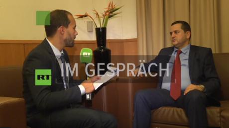 Libyscher Außenminister zu Russlands Vermittlerpotenzial: Fordern Putin auf, in Libyen einzugreifen (Abdulhadi Elhweg, Außenminister der libyschen Regierung in Tobruk)