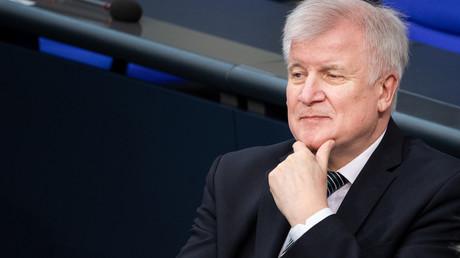 Bundesinnenminister Horst Seehofer (CSU) bei einer Bundestagssitzung am 3. April 2019