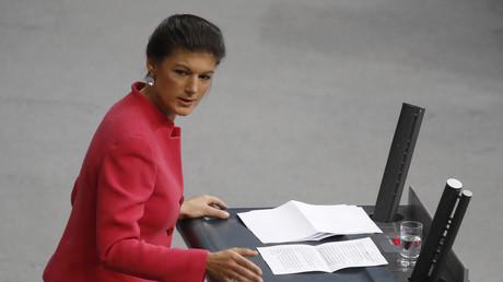 Wagenknecht im März 2019 bei einer Rede im Bundestag
