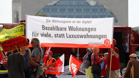 Demonstrationen gegen zu hohe Mieten, Berlin, Deutschland, 21. September 2018