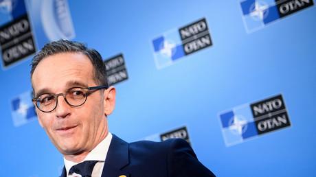 Außenminister Heiko Maas musste sich bei den Feierlichkeiten in Washington zu 70 Jahre NATO nicht nur von den USA eine Menge Kritik gefallen lassen.