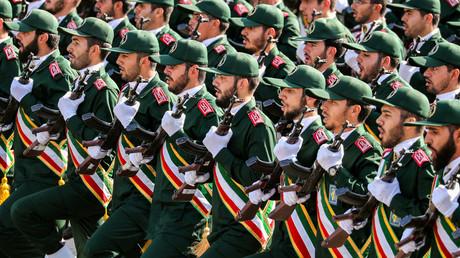 Iranische Revolutionsgarden bei einer Militärparade im September 2018