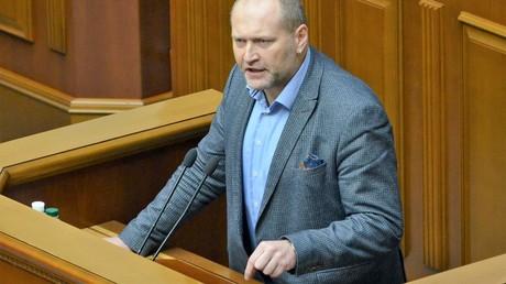 Der ukrainische Delegierte Borislaw Berjosa übte scharfe Kritik an den deutschen Vertretern im Europarat.