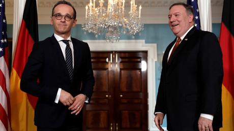 Befehlsempfänger oder Vertreter einer eigenständigen deutschen Außenpolitik? Außenminister Heiko Maas trifft auf US-Außenminister Mike Pompeo im State Department, 23. Mai 2018