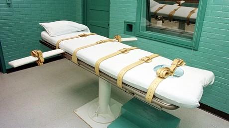 Die Todeszelle im Texas Department of Criminal Justice Huntsville Unit in Huntsville. Hier finden Hinrichtungen durch die Giftspritze, auch
