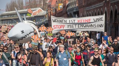 Am Samstag vor einer Woche protestierten Zehntausende in Berlin gegen die Entwicklung auf dem Wohnungsmarkt.