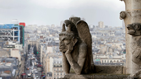 Die berühmte Notre-Dame-Chimäre