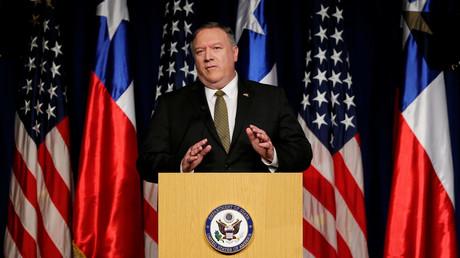 Peking is not amused: Während seines Besuches in Chile warnte US-Außenminister Mike Pompeo vor chinesischen Investitionen in der Region.