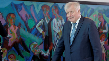 Bundesinnenminister Horst Seehofer, Berlin, Deutschland, 17. April 2019.