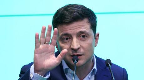 Der künftige ukrainische Präsident Wladimir Selenskij