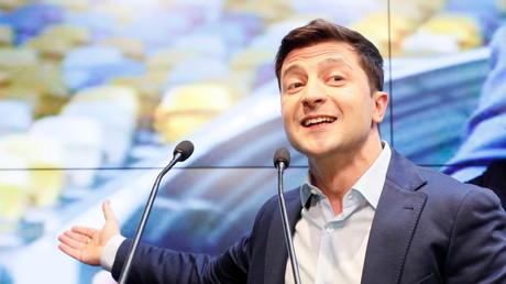 Der designierte Präsident der Ukraine Wladimir Selenskij