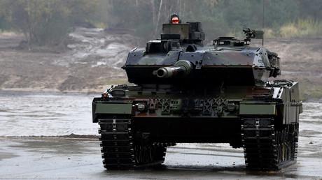 Gute Rüstung? Ein Leopard 2 A7 der Bundeswehr