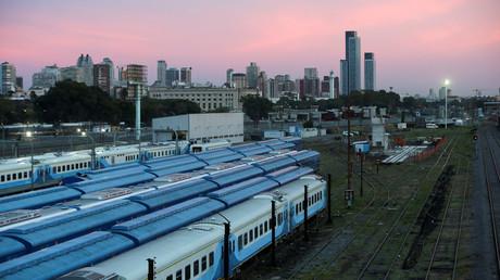 Streik: Züge am Bahnhof Retiro in Buenos Aires
