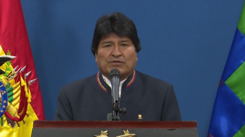 Bolivien: Morales verurteilt Umsturzversuch in Venezuela - USA dürfen kein Blutbad provozieren