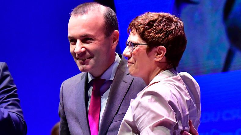 """Kramp-Karrenbauer: """"Wir stehen zu Nord Stream 2"""""""