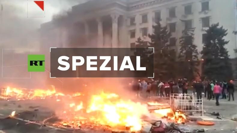 """5. Jahrestag des Odessa-Massakers: """"Es wurde dunkel, wie in der schrecklichsten, schwarzen Nacht"""""""