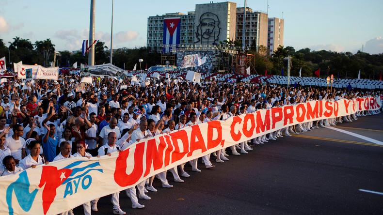 """""""Völkerrechtswidrig"""": Mogherini verurteilt """"vollständige Aktivierung"""" des Kuba-Embargos der USA"""