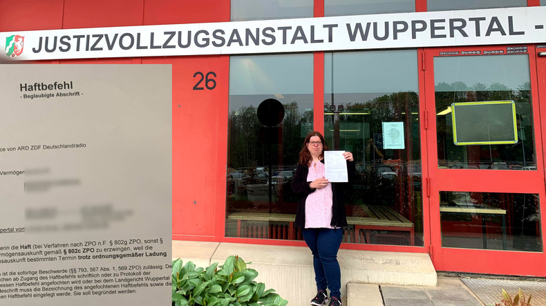 Erzwingungshaft wegen Rundfunkgebühren – Frau wegen knapp 280 Euro hinter Gittern