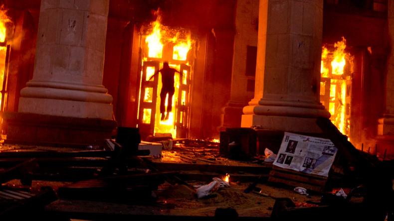 Verstörende Bilder zum fünften Jahrestag des Odessa-Massakers