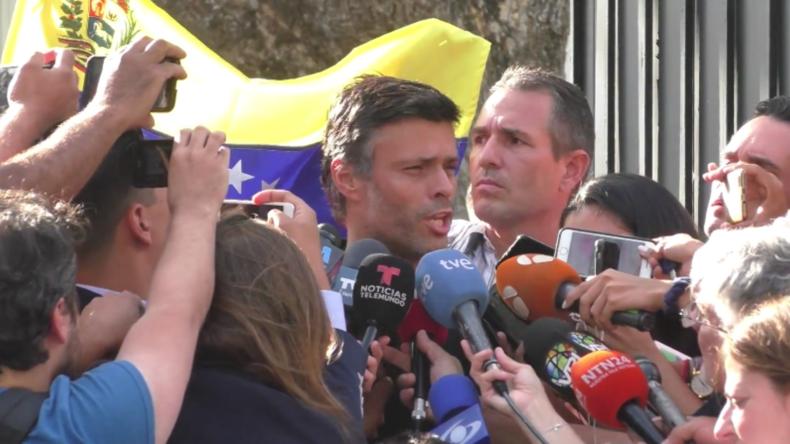 Venezuela: Oppositionsführer López zuversichtlich für nächste Schritte gegen Maduro