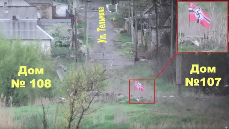 """Ukrainische Truppen hissen Hakenkreuz-Fahne an Frontlinie – BILD-Röpcke relativiert dies als """"Humor"""""""