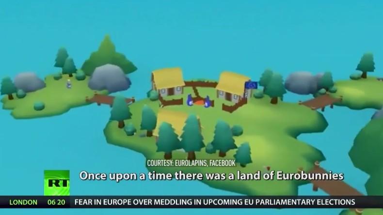 EU-Parlamentswahlen: Der Russe lauert schon! (Video)