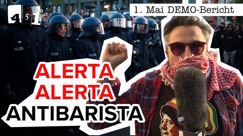 1.Mai DEMO in BERLIN | Gewaltfrei oder Krawall? | 451 Grad