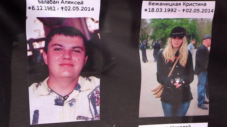 Wut und Trauer beim Gedenken an Odessa-Massaker in Berlin