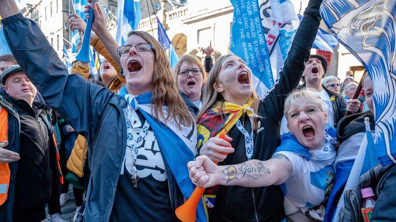 LIVE: Glasgow – Tausende für schottischen Unabhängigkeitsmarsch erwartet
