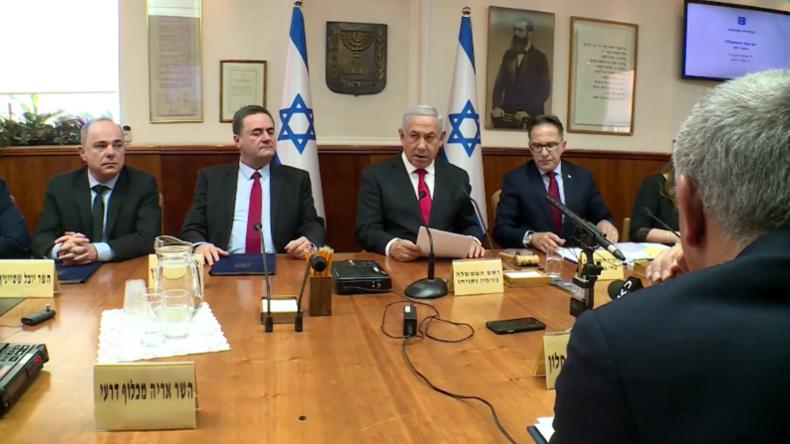"""Netanjahu will """"massive Angriffe"""" auf """"terroristische Elemente"""" in Gaza fortsetzen"""