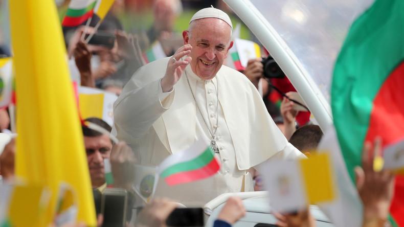 Bulgarien – Papst hält Predigt im Stadtzentrum von Sofia