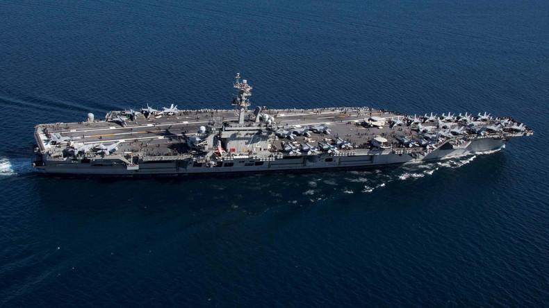 Drohgebärden gegen den Iran: USA verlegen Flugzeugträger in die Region