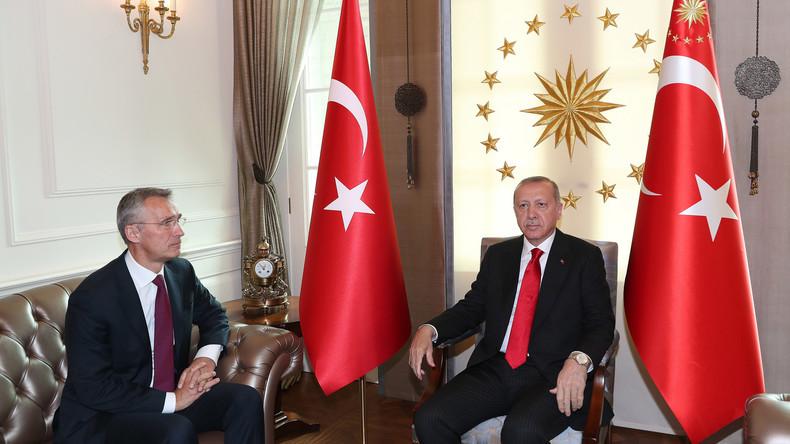 Reizthemen bei Treffen zwischen Erdoğan und Stoltenberg