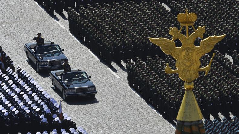 LIVE: Moskau – Proben für die Siegesparade am 9. Mai