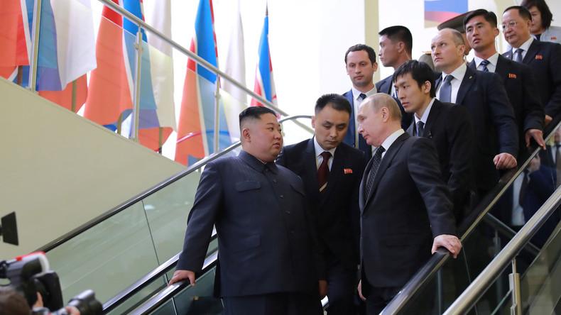 Spannungen auf koreanischer Halbinsel: Wladimir Putin mahnt zum Dialog zwischen Nord und Süd