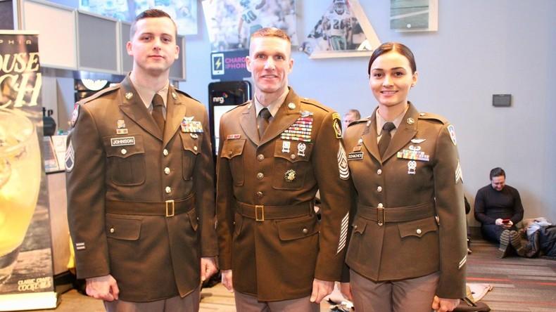 """""""Wir sind die Guten"""": Neue Dienstuniformen der US-Armee an Zweiten Weltkrieg angelehnt"""