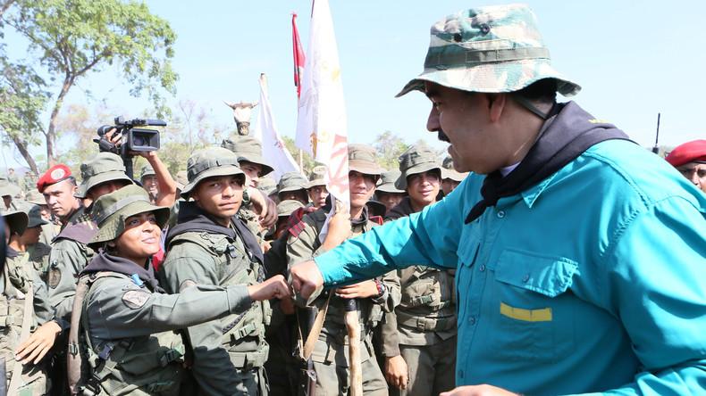 Venezuela: USA heben Sanktionen gegen Überläufer auf – Andere Militärs sollen damit motiviert werden
