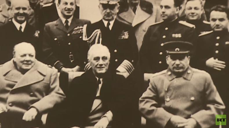 Die Gestaltung der neuen Weltordnung: Stalin, Roosevelt und Churchill in Jalta (Video)