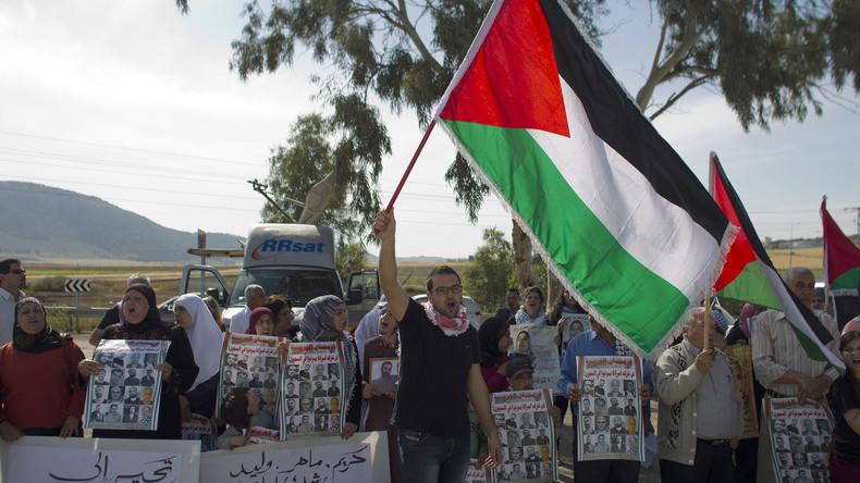 Israel: Stadt sperrt ihren Park für Palästinenser (Video)