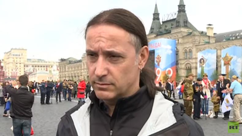 """""""Opfer haben längeres Gedächtnis als Täter"""": Alexander Neu auf Moskauer Siegesparade (Video)"""