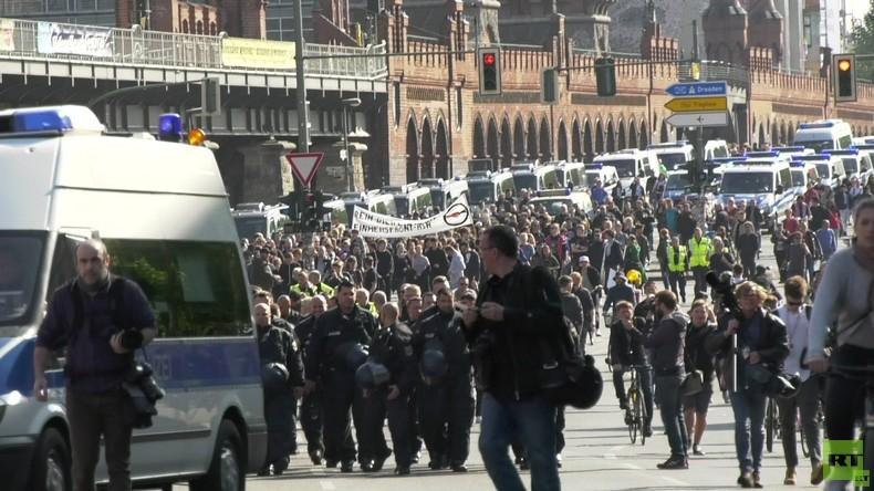 """Exklusiv: Der """"Revolutionäre 1. Mai"""" in Berlin aus Sicht eines Polizisten"""